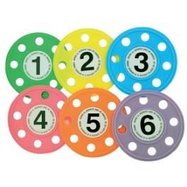 Jgo. 6 Discos con agujeros