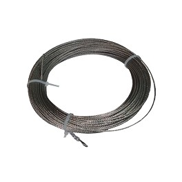 Ml. Cable acero inoxidable 3 mm. corchera