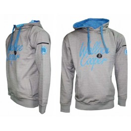 Ud. Sudadera Softee Wallace & Cooper gris con capucha