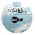 Ud. Balón de Voleibol Softee SOFTBALL VOLEIBOL 2.0 Azul/Blanco