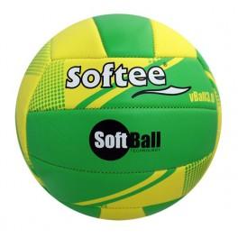Ud. Balón de Voleibol Softee SOFTBALL VOLEIBOL 3.0 Amarillo/Verde
