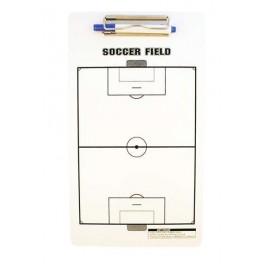 Ud. Carpeta táctica veleda blanca fútbol
