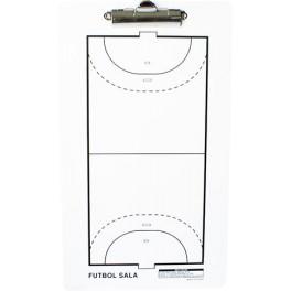 Ud. Carpeta táctica veleda blanca fútbol sala / balonmano