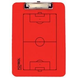 Ud. Carpeta táctica veleda roja fútbol