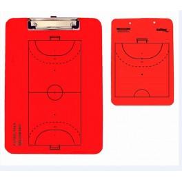 Ud. Carpeta táctica veleda roja fútbol sala/balonmano