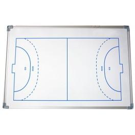 Ud. Pizarra magnetica cerco aluminio 60x90 cm. fútbol sala/balonmano