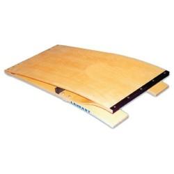 Trampolín salto madera