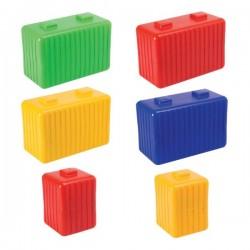 Conjunto bloques construcción