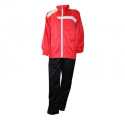 Ud. Chandal Softee Full color rojo/negro