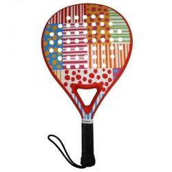 Ud. Pala de Padel Agatha Dots and Stripes