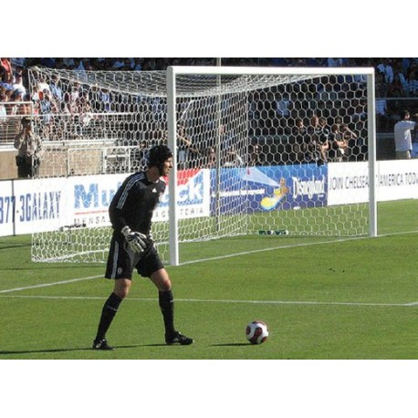 Jgo. Redes Fútbol 11 Polipropileno Tipo Cajón