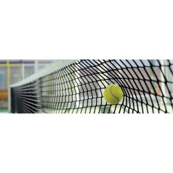 Red de Tenis malla doble 4 mm. Polietileno