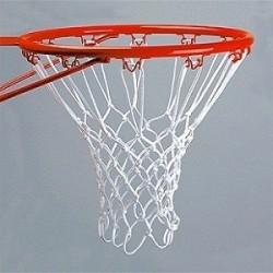 Jgo. Redes Baloncesto algodón 3 mm. 12 ganchos
