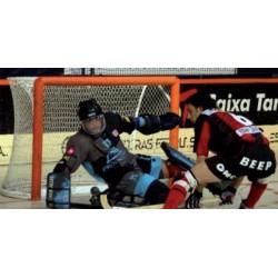 Jgo. Redes Hockey Patines Semicircular Polipropileno