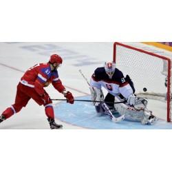 Jgo. Redes Hockey Hielo semicircular Polipropileno 4 mm.