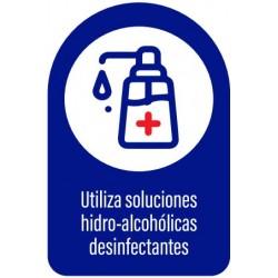 Vinilo adhesivo utilizar desinfectantes