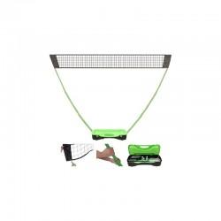 Set Badminton trasladable 3 m.