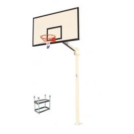 Jgo. Canastas baloncesto Deluxe fijas