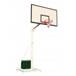 Jgo. Canastas baloncesto Deluxe trasladables