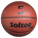 Ud. Balón baloncesto Softee CUERO 5