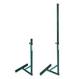 Jgo. Postes futtenis-futvoley metal. 35x35 mm con contrapeso