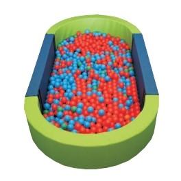 Ud. Piscina ovalada llenado pelotas
