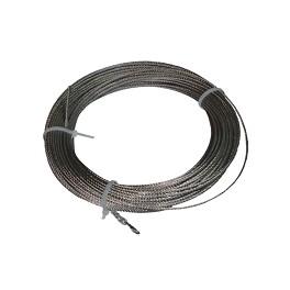 Ml. Cable acero inoxidable 3 mm. corchera