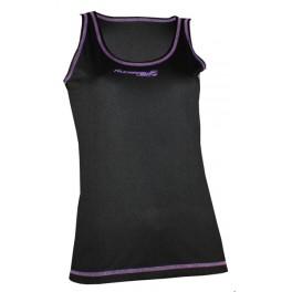 Ud. Camiseta Mujer Running Bolt Runaway Negro