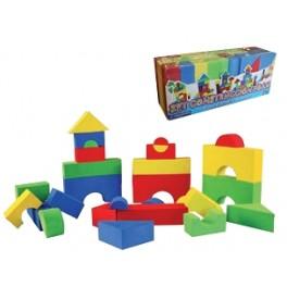 Set Construcción Foam 50 Piezas