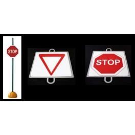 Ud. Panel Señalización Tráfico de Prioridad nº 2 (CEDA)