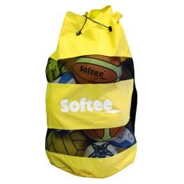 Ud. Saco portabalones Softee amarillo