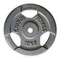 Ud. Disco de hierro con agarre 25 kg.