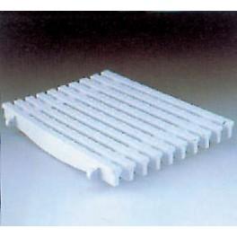 Rejilla rebosadero transversal placa ancho 295 mm.