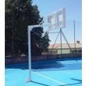 Jgo. Canastas Baloncesto Monotubo New Tubo 114 mm. Fijas