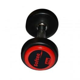 Ud. Mancuerna Pro-Sport Softee color negro 24 Kg.