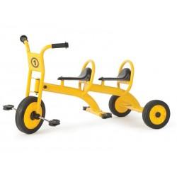 Triciclo escolar taxi doble