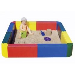 Piscina arena cuadrada