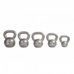 Juego 3 Kettlebells Cast Iron de 24 a 32 kg.