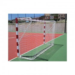 Jgo. Redes fútbol sala/balonmano 4 mm.