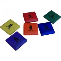 Set 6 Cuadrados de Colores