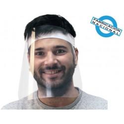 Pantalla facial protectora con diadema modelo 2