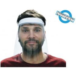 Pantalla facial protectora abatible modelo 3