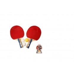 Juego Raquetas De Tenis De Mesa Con Pelota Softee Dynamic