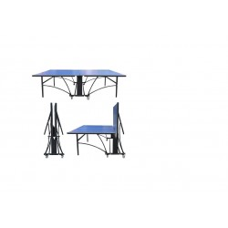 Mesa Tenis De Mesa Exterior Siloli Negro/Azul*